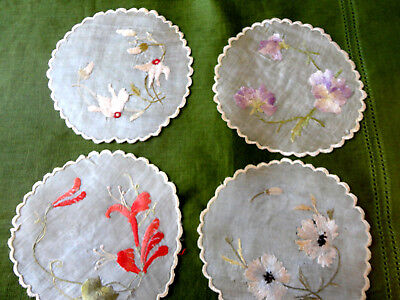 Ant 1850 Brookfield, Ma. Silk-Lg Coasters For Centerpieces,Family Name: Johnson
