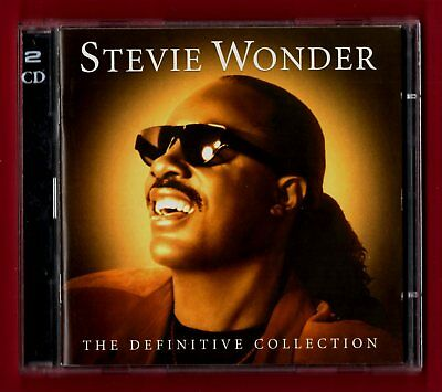 STEVIE WONDER - The Definitive Collection (2002 38 trk 2 CD Set)