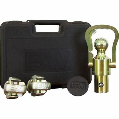 B&W Trailer Hitches GNXA2061 Puck System Gooseneck Ball & Safety Chain Kit