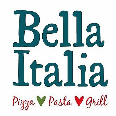 Bella Italia Restaurant Voucher - 50% Off Main Meals!! Grab A Bargain!!