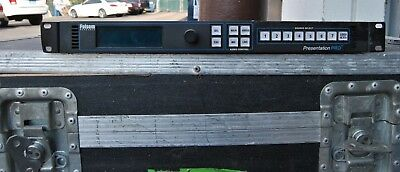 Folsom PS-2001 Presentation Pro Audio Video Switcher/Scaler