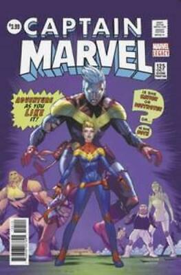 Captain Marvel #125 2Nd Ptg Mora Var Leg