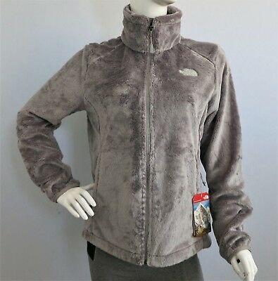 a2e8fe88c95e THE NORTH FACE Osito 2 Women s Fleece Jacket Metallic Silver sz S