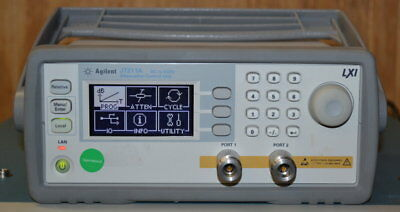 Agilent J7211A DC-6GHz, 0-121db Programmable Attenuator, opt 001 N Qty Available