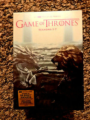 Game of Thrones: The Complete Seasons 1-7 Box Set (Brand New, DVD, 34-Disc Set)