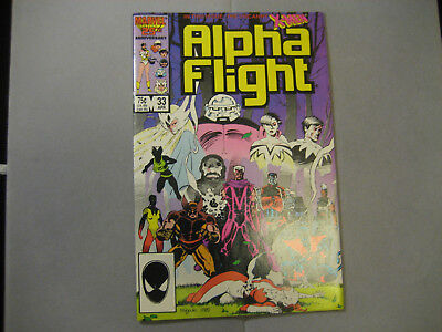 Alpha Flight #33 (1986, Marvel) 1st App Lady Deathstrike