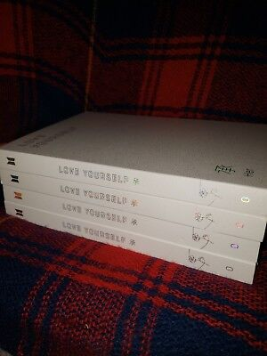 BTS Love Yourself: Her O version album (NO PHOTOCARD, NO POSTER)