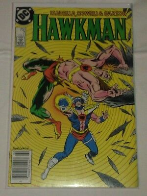 Hawkman Vol 2 #7 F/VF Newstand Edition DC Comics