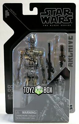 """In STOCK Star Wars Black Series Archive Series 1 """"IG-88"""" Action Figure"""