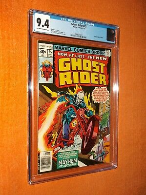 GHOST RIDER #25 CGC 9.4 {Malice 1st app.} - Limited CGC availability!!!