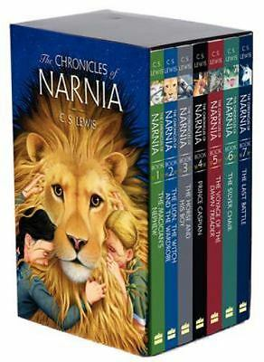 The Chronicles of Narnia Boxed Set 1994 by C. S. Lewis (Paperback, New)