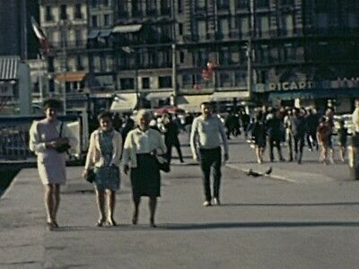 Super 8 home movie 1970s: Italy (Padova), Spain and more.