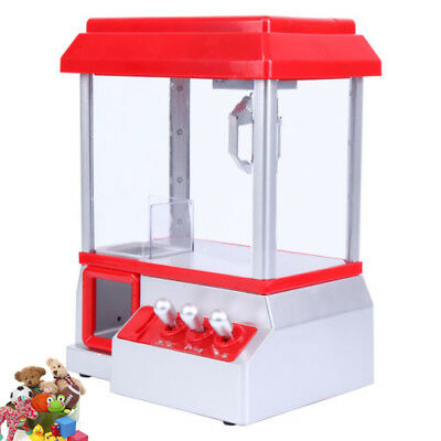 Electronic Vending Arcade Claw Candy Grabber Prize Joystick Machine Kids toy
