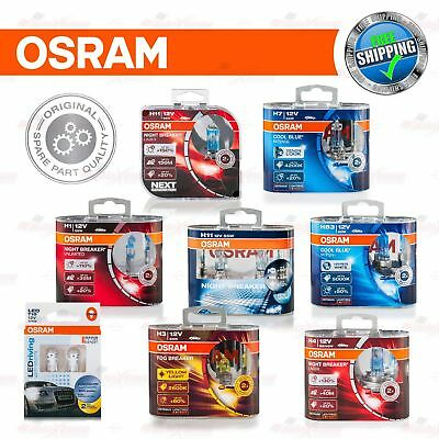 OSRAM Halogen LED BULBS LAMPS H1 H3 H4 H7 H8 H11 HB3 HB4 H6W H21W T10 T20 P21