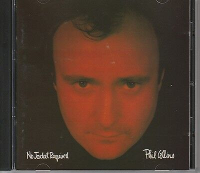 Phil Collins – No Jacket Required    CD