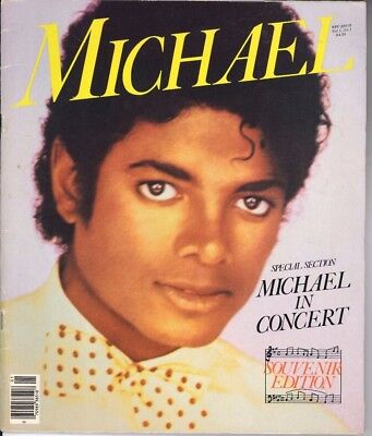 Michael Jackson In Concert Souvenir Edition Magazine Book 1984 JACKSONS VICTORY