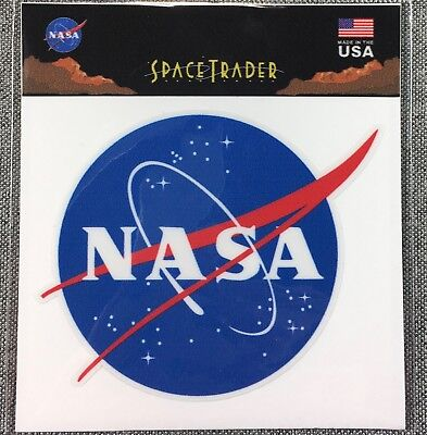 NASA LOGO Decal Sticker Official Authentic Collectors Collectible SPACE 3.5in