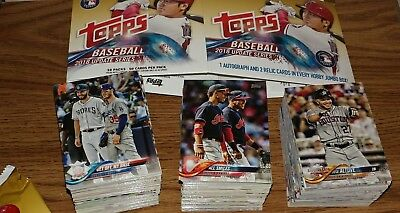 2018 TOPPS UPDATE BASEBALL Lot COMPLETE YOUR SET Base Inserts Foil You Pick 25