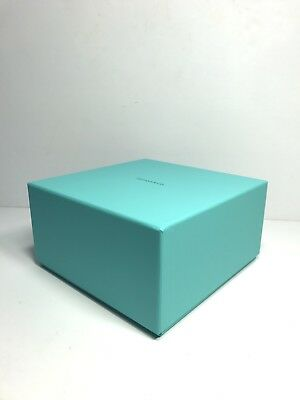 """TIFFANY & CO Large Empty Gift Box Storage Container 8""""x8""""x4.5"""""""