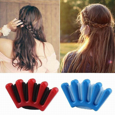 Sponge Hair Plait Braider Quick French Twist Styling Braiding Tool for Women AU