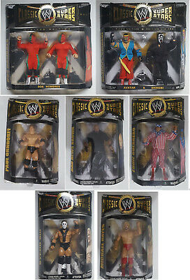WWE Classic Superstars custom Jakks action figure no Mattel wrestling