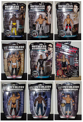WWE Ruthless Aggression action figure wrestling MOC Jakks RA 2008 2009 no mattel