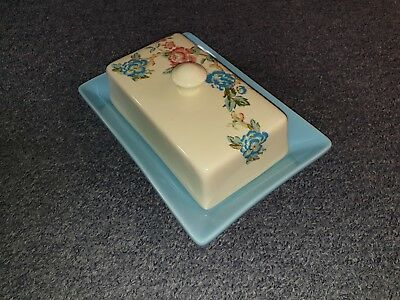 Rosie's Pantry Butter Dish, Lid And Knife
