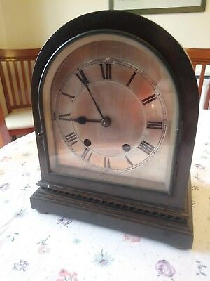W&H, Winterhalder Hofmeier bracket/mantel clock with Westminster Chime