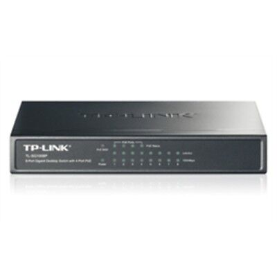 New TP-Link Network TL-SG1008P 8Port Gigabit Desktop Switch with 4Port PoE 10/10