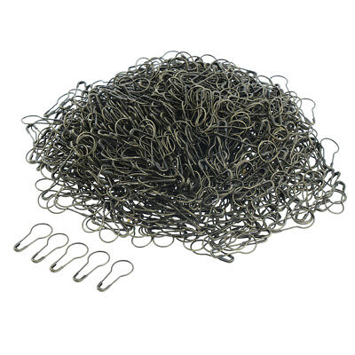 1000x Metal Gourd Safety Pins Tag Wire Bulb Calabash Bead Needle Pins Bronze