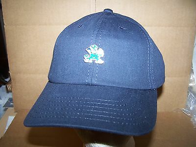 Notre Dame FIGHTING IRISH  STRAP ADJUSTABLE  HAT/CAP- AMERICAN NEEDLE--NCAA