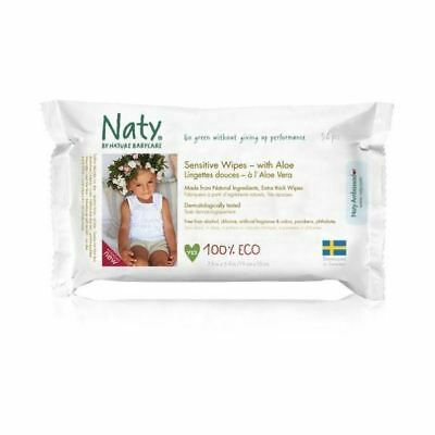 Nature Baby Sensitive Wipes With Aloe 390g x 10 Pack