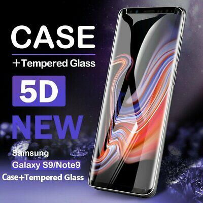 5D Case Friendly Tempered Glass Screen Protector For Samsung Galaxy S8 S9 Note 9