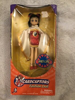 Clowbook Cardcaptors MEI LIN Fashion Doll Action Anime Figure RARE Vintage
