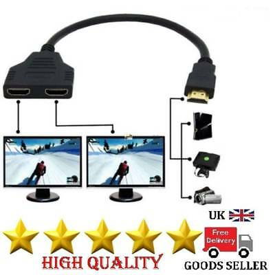 3 in 1 Port HDMI Cable 4K 2160P Multi Switcher Switch Splitter Adapter HUB 2019