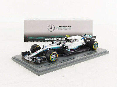 Spark - 1/43 - Mercedes F1 W09 - Chine Gp 2018 - S6053