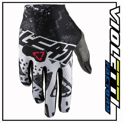 Glove Gpx 1.5 Gripr Tech White Bianco Guanti Cross Enduro Leatt Mx