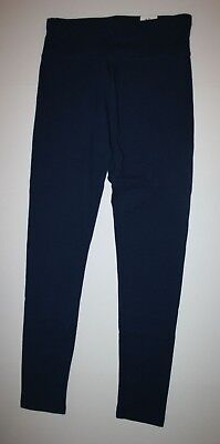 NEW Justice Navy Blue Athletic Full Length Leggings NWT 6 7 8 10 12 16 20 Girls