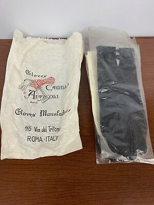 Vintage Leather Gloves Lot 3 Pairs Size 7 1/2