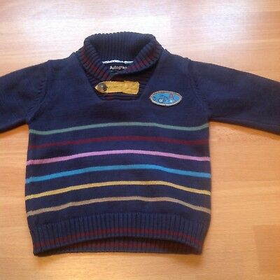 Marks and Spencer Autograph Boys Jumper 12-18 months Navy Excellent condition