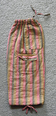 Made In Peru Cotton & Rayon Casual Colorful Baggie Pants Children Size #101063