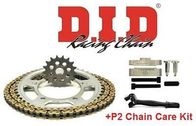 Suzuki GSF1250 N / S  07-15 DID Chain And Sprocket Kit + P2 Kit