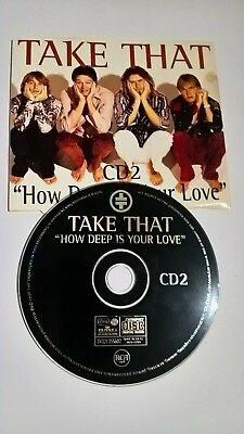 Take That - How Deep Is Your Love CD2 - 4 Track CD Single