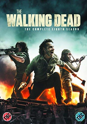 Walking Dead, The Season 8 Dvd (Uk Import) Dvd [Region 2] New