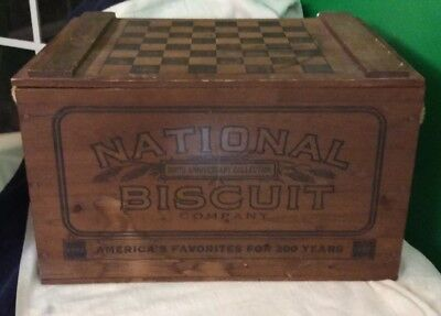 National Biscuit Co, 200th Anniversary Collection, Wooden Box, 1992