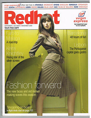 Magazine REDHOT Virgin Express 2004 Airlines