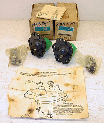 bf6bfbb69f630 NOS 1983-1990 Chevrolet Chevy GMC S-15 Set of Lower Ball Joints Genuine