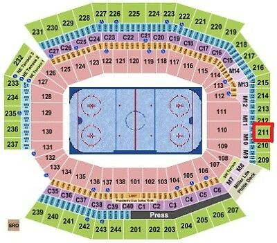 Flyers vs Penguins - 2 Tickets - Stadium Series - Section 211 Row 3 - Mobile Tix
