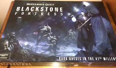 40K Warhammer Quest: Blackstone Fortress Box Game - Rules, Cards etc (No Minis)