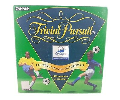 TRIVIAL PURSUIT WORLD Cup France 98 edition - EUR 15 0d661c5283884